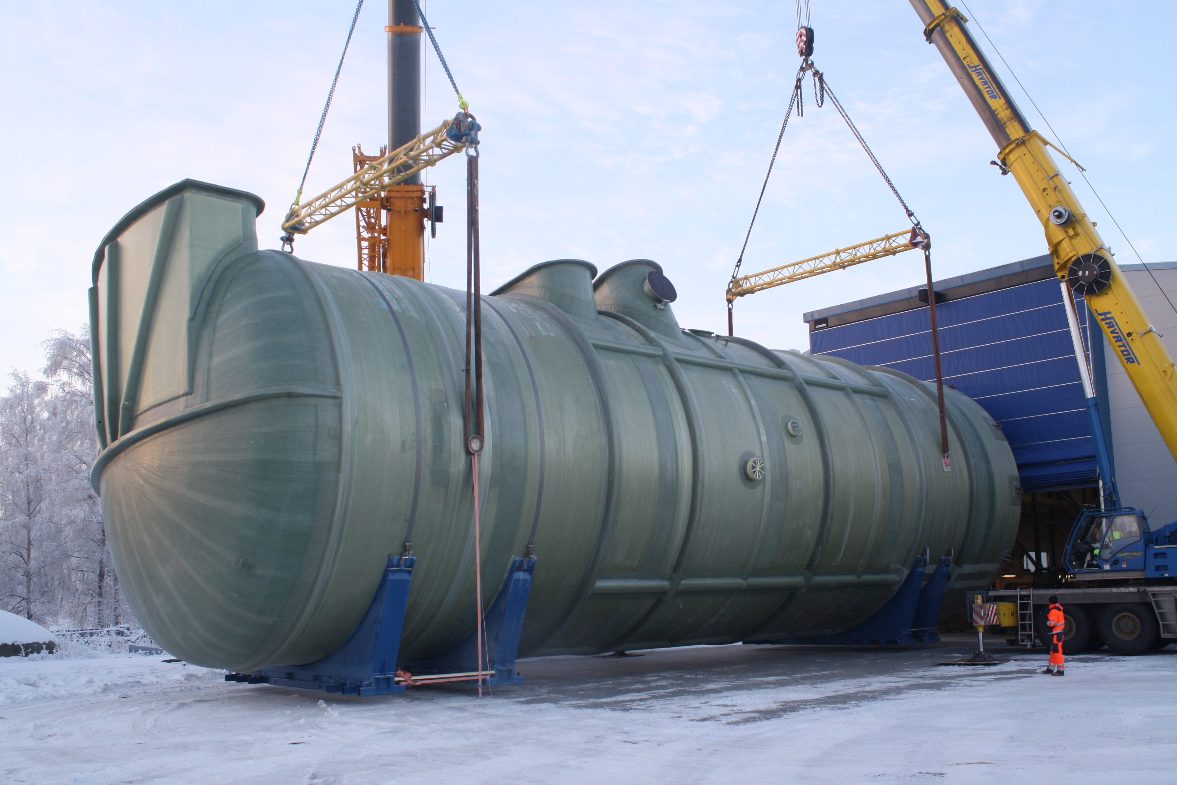 Scrubber, tank, stack, ducting and piping + installation - NCE