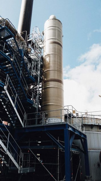 FRP scrubbers, quench & absorption towers - NCE